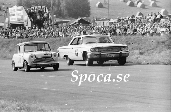 Mini och Ford Galaxie