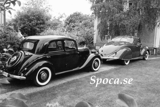 Lincoln Zephyr vs Mercedes 170D